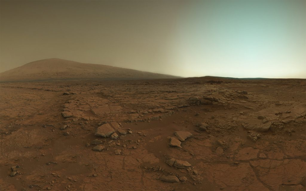 mars rality show surface